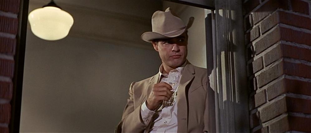 "Marlon Brando dans ""La Poursuite impitoyable"""