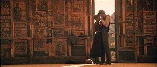 """Isabelle Huppert et Kris Kristofferson dans """"La Porte du Paradis"""""""