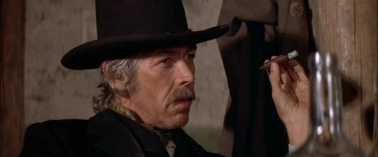 "James Coburn dans ""Pat Garrett et Billy the Kid"""
