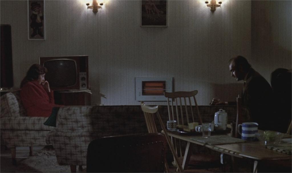 """Vivien Merchant et Sean Connery dans """"The Offence"""""""