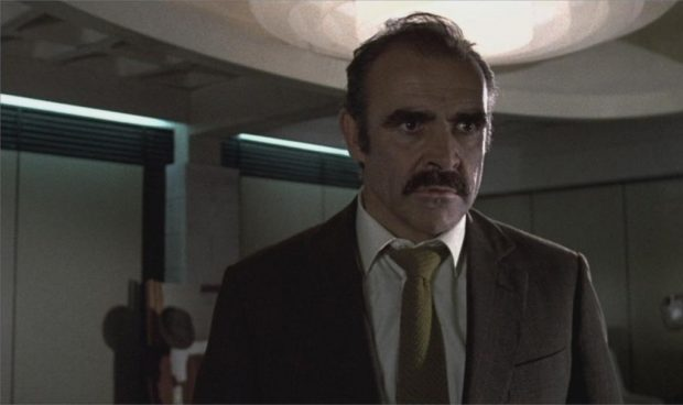 "Sean Connery dans ""The Offence"""