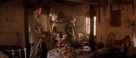 """Christopher Walken et Isabelle Huppert dans """"La Porte du Paradis"""""""