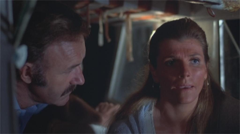 "Gene Hackman et Jennifer Warren dans ""Night Moves"" (""La Fugue"")"
