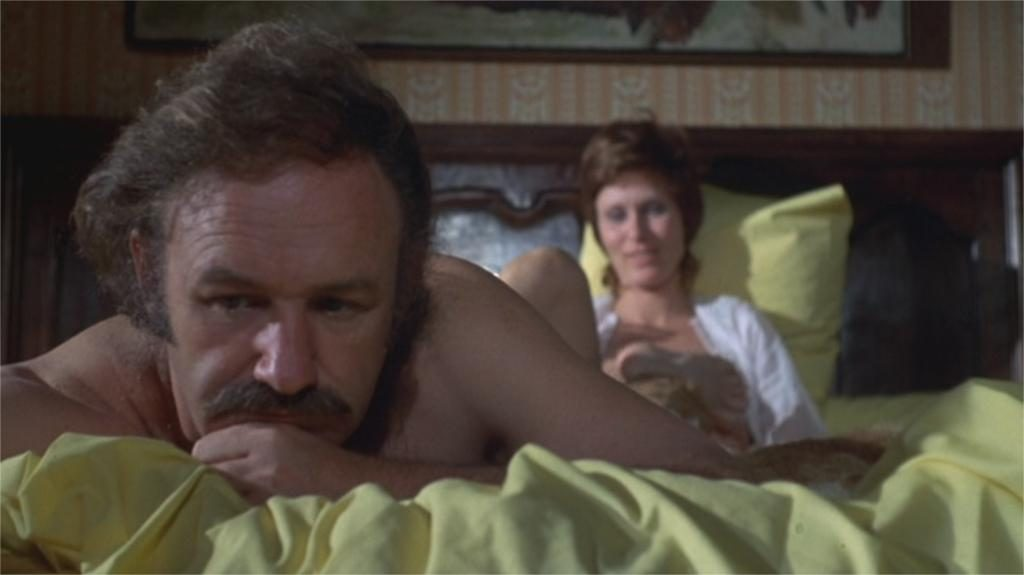 "Gene Hackman et Susan Clark dans ""Night Moves"" (""La Fugue"")"