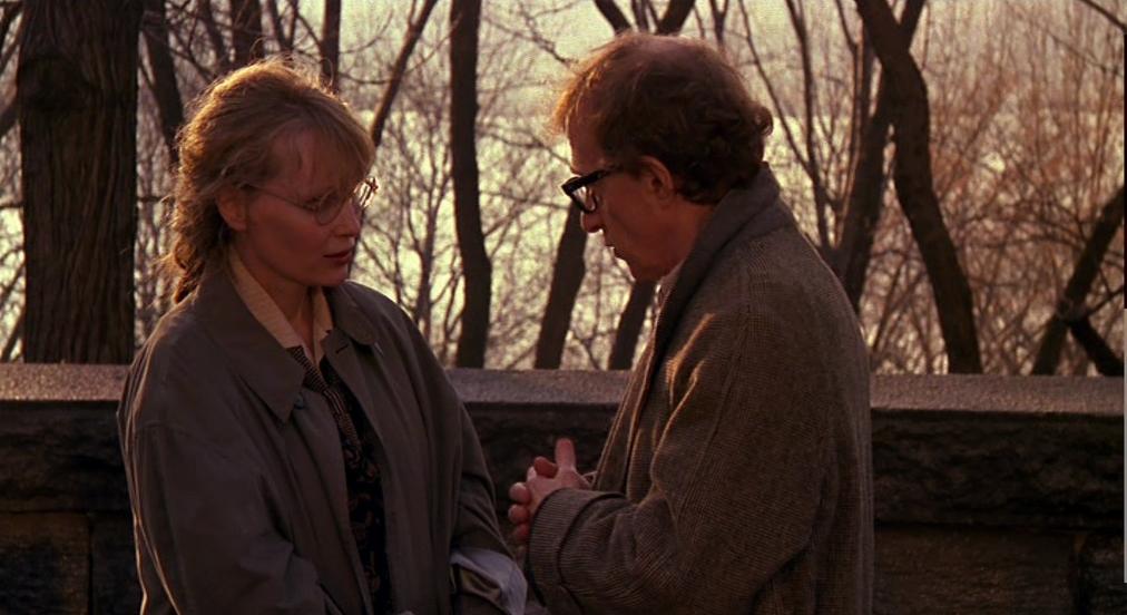 """Mia Farrow et Woody Allen dans """"Crimes et délits"""""""