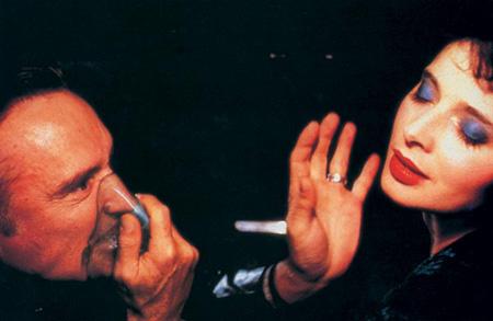 """Dennis Hopper et Isabella Rosselini dans """"Blue Velvet"""""""