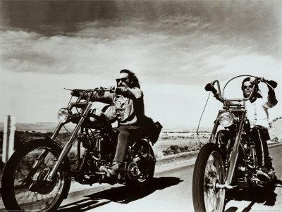 """Dennis Hopper et Peter Fonda dans """"Easy Rider""""."""