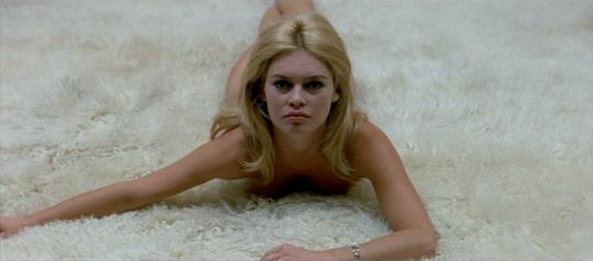 """Brigitte Bardot dans """"Le Mépris"""""""