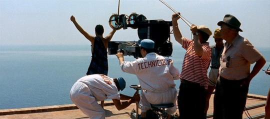 """Fritz Lang dans """"Le Mépris"""""""