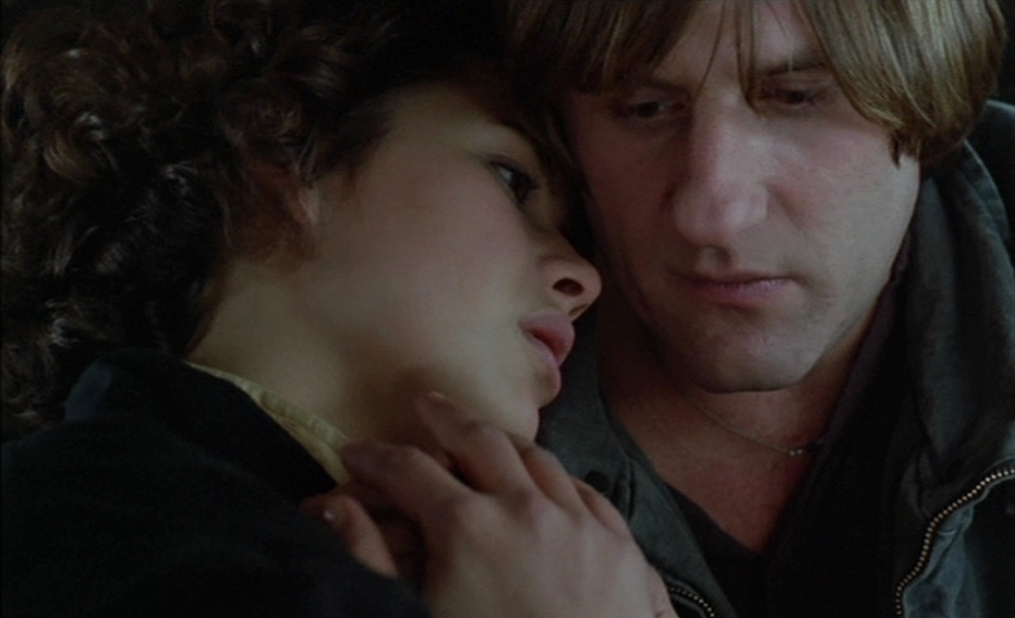 """Sophie Marceau et Gérard Depardieu dans """"Police"""""""