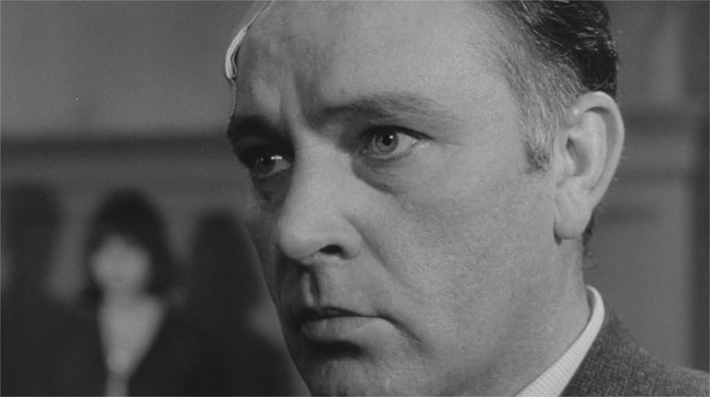 """Richard Burton dans """"L'Espion qui venait du froid"""""""