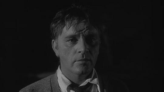 "Richard Burton dans ""Qui a peur de Virginia Woolf ?"""