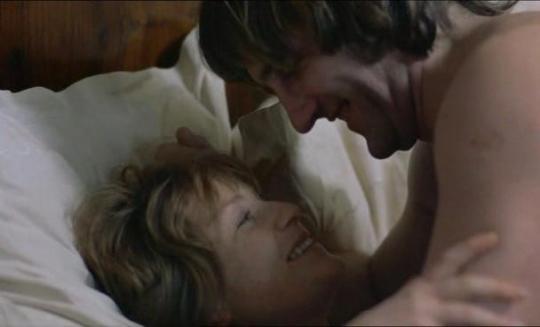 """Gérard Depardieu et Isabelle Huppert dans """"Loulou"""""""