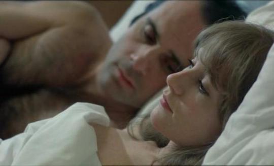 "Isabelle Huppert et Guy Marchand dans ""Loulou"""