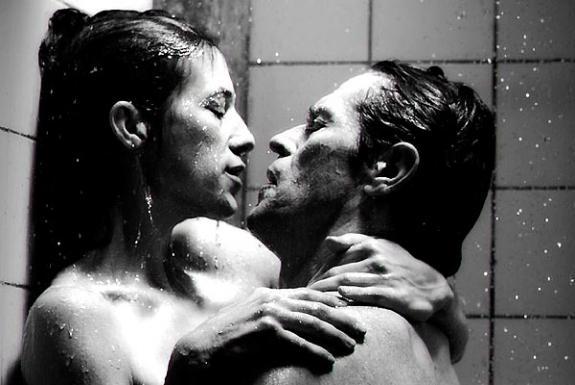 "Charlotte Gainsbourg et Willem Dafoe dans ""Antichrist"""