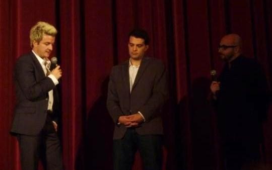 Andrew Monument et Joseph Maddrey présentent leur documentaire au festival de Deauville.