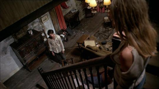 """Dustin Hoffman et Susan George dans """"Les Chiens de Paille"""""""