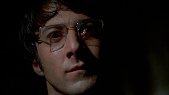 """Dustin Hoffman dans """"Les Chiens de Paille"""""""