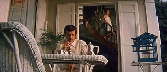 "Jean-Paul Belmondo et Catherine Deneuve dans ""La Sirène du Mississippi"""