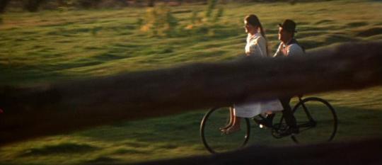 """Katharine Ross et Paul Newman dans """"Butch Cassidy et le Kid"""""""