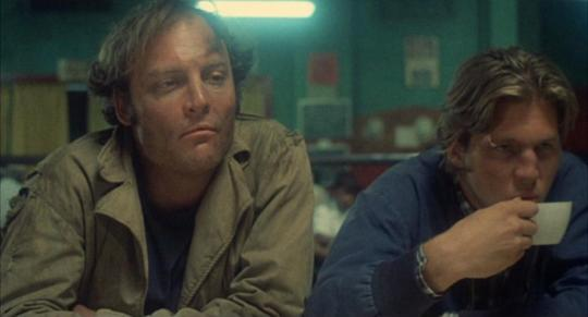 "Stacy Keach et Jeff Bridges dans ""Fat City"""