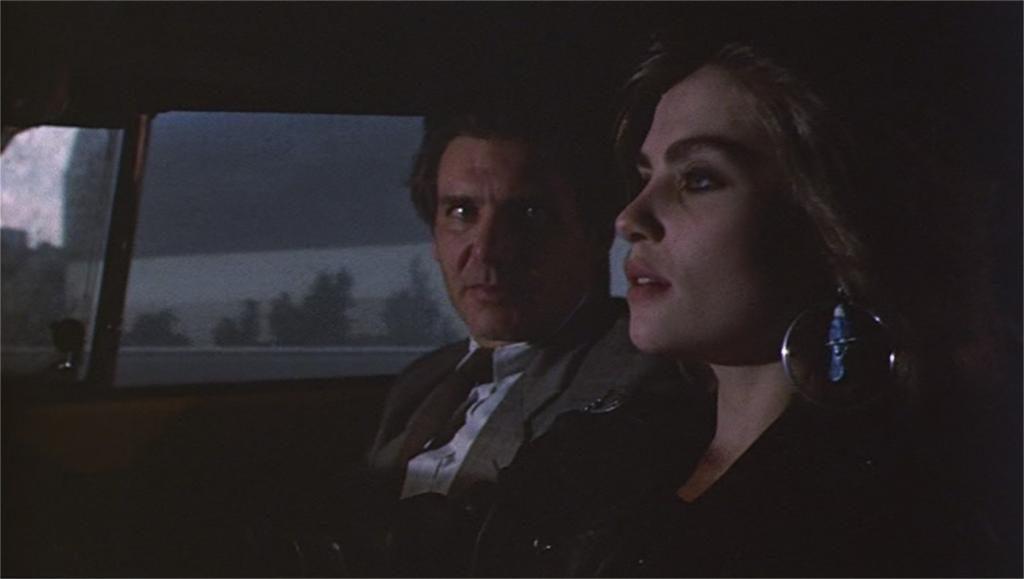 """Harrison Ford et Emmanuelle Seigner dans """"Frantic"""""""