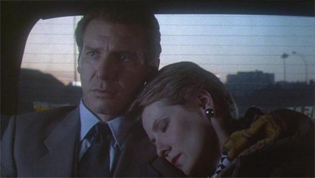"Harrison Ford et Betty Buckley dans ""Frantic"""