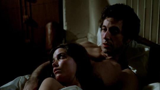 """Al Pacino et Karen Allen dans """"Cruising"""""""
