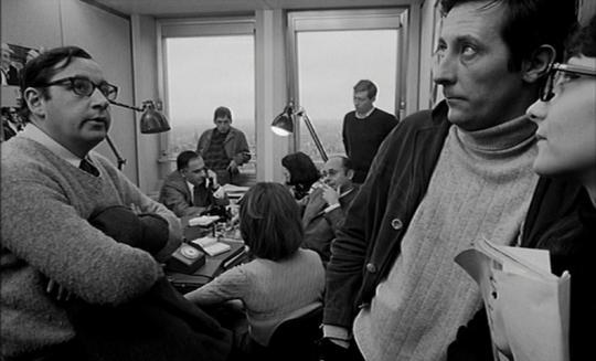 """Philippe Noiret et Jean Rochefort dans """"Qui êtes-vous Polly Maggoo ?"""""""