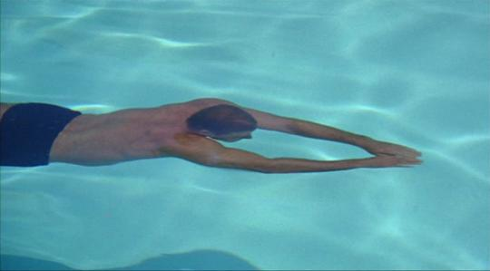 "Burt Lancaster dans ""The Swimmer"""