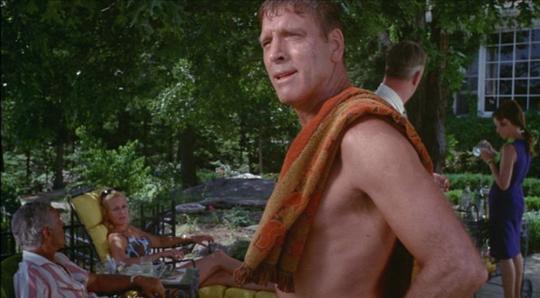 """Burt Lancaster dans """"The Swimmer"""""""