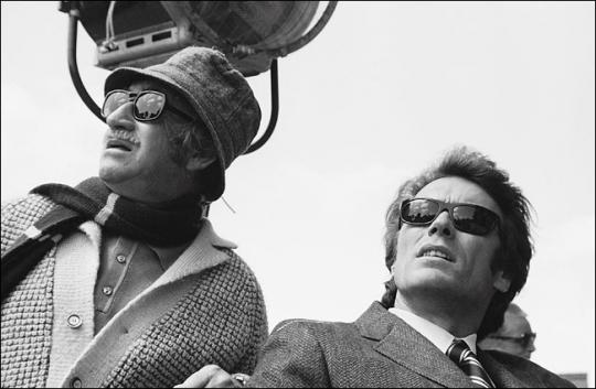 Don Siegel et Clint Eastwood