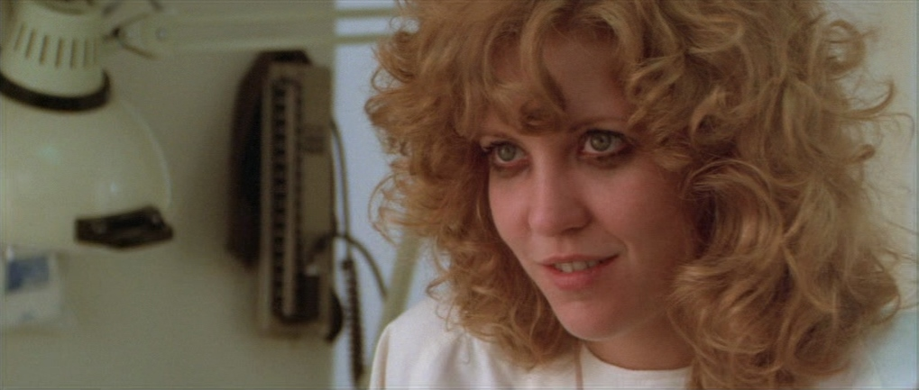 "Nancy Allen dans ""Blow Out"""