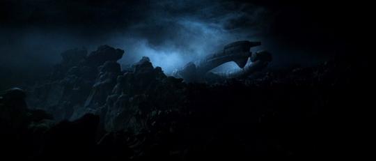 """Plan sur le vaisseau d'où provient le signal dans """"Alien"""""""