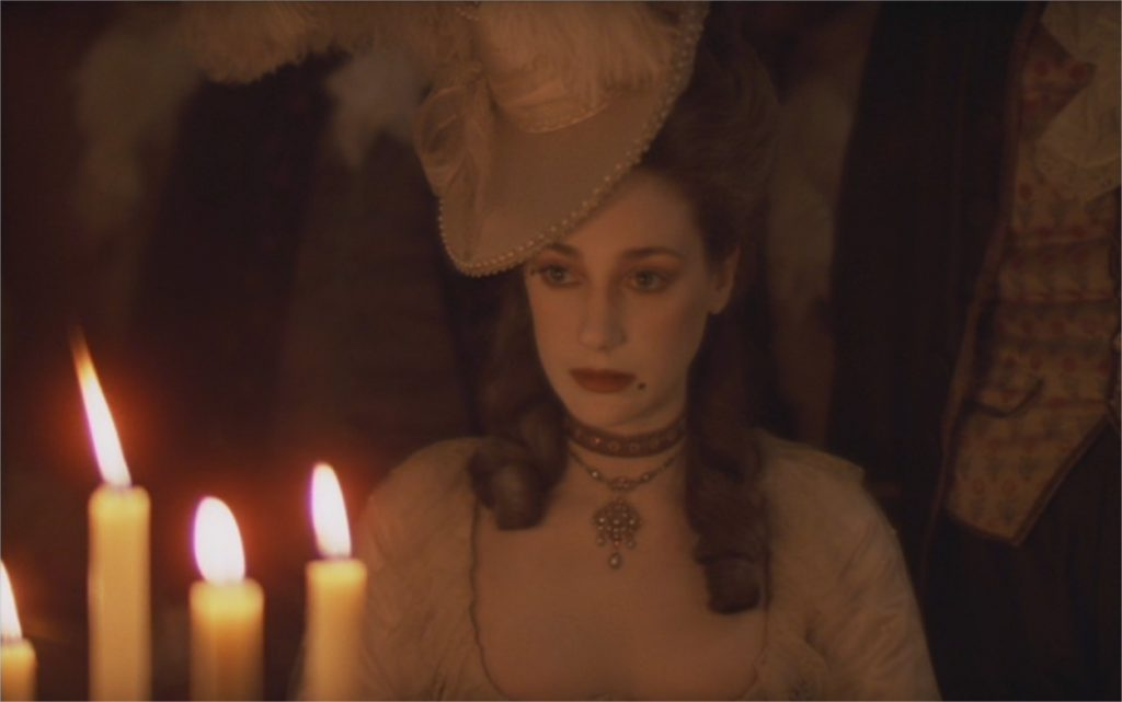 "Marisa Berenson dans ""Barry Lyndon"""