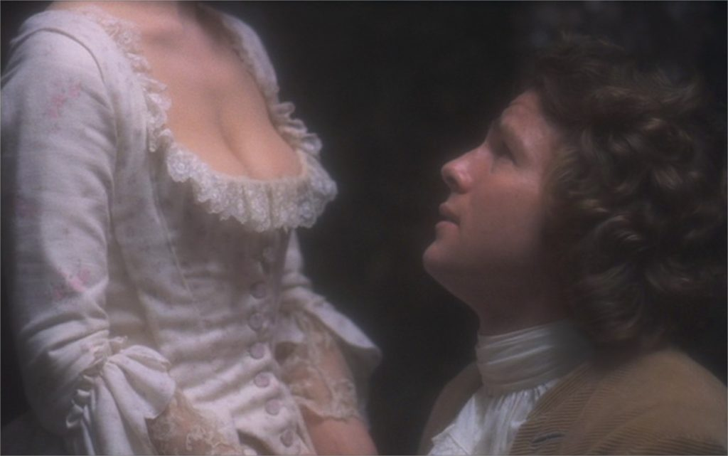 "Gay Hamilton et Ryan O'Neal dans ""Barry Lyndon"""