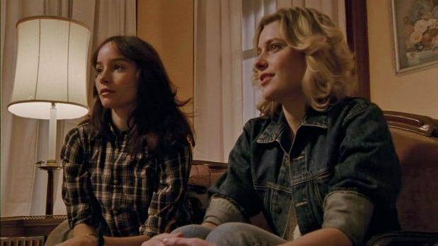 "Jocelin Donahue et Greta Gerwig dans ""The House of the Devil"""