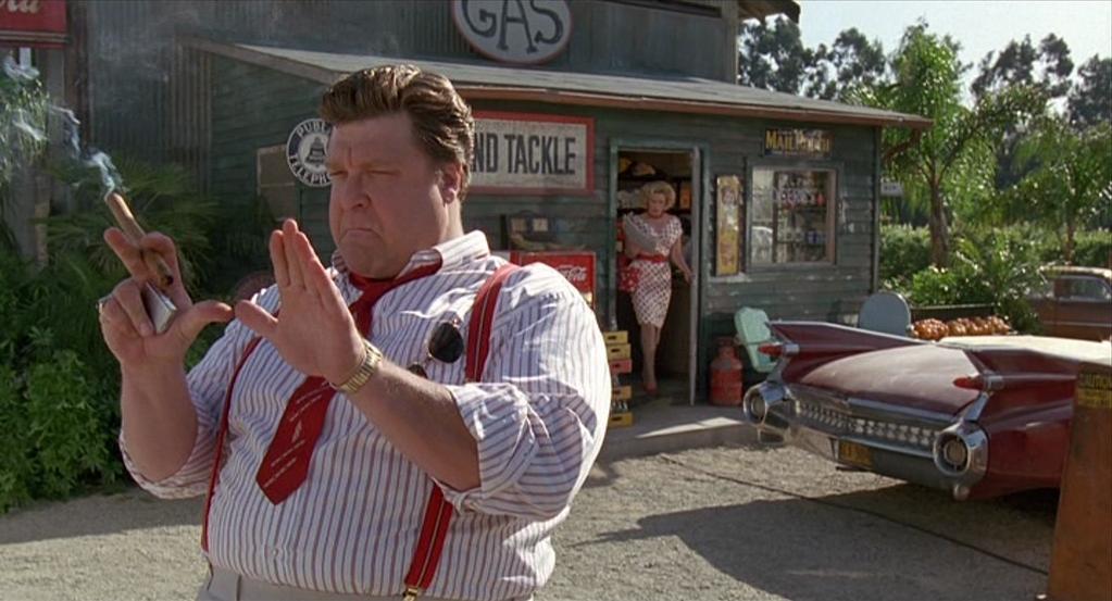 "John Goodman dans ""Panic sur Florida Beach"""