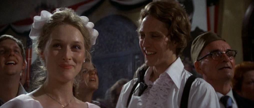 """Meryl Streep et Christopher Walken dans """"Voyage au bout de l'enfer"""""""