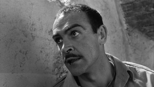 """Sean Connery dans """"La Colline des hommes perdus"""""""