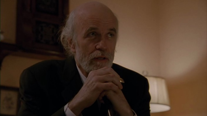 "Tom Noonan dans ""The House of the Devil"""