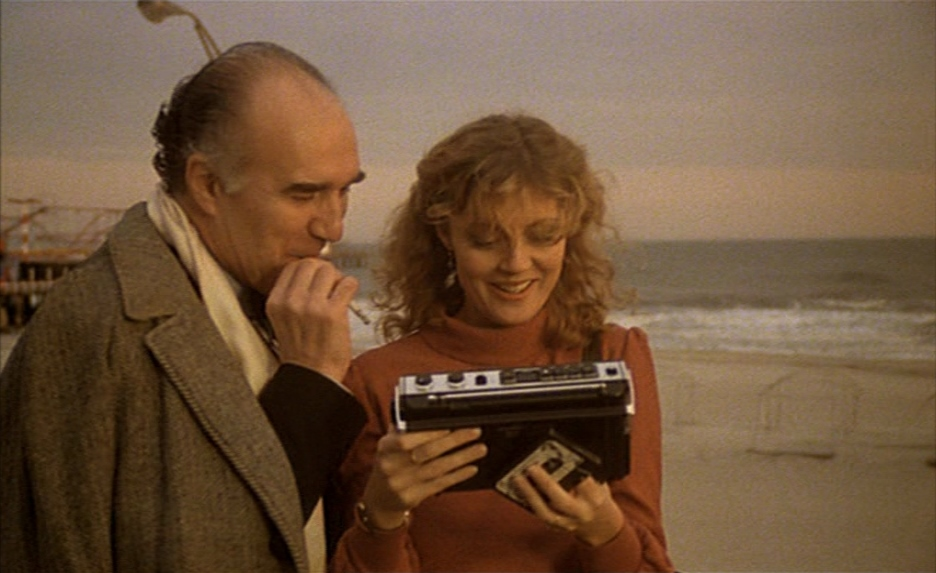 "Michel Piccoli et Susan Sarandon dans ""Atlantic City"""
