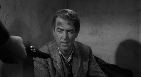 """James Stewart dans """"L'Homme qui tua Liberty Valance"""""""