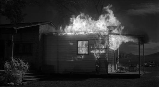 """La scène de l'incendie dans """"L'Homme qui tua Liberty Valance"""""""
