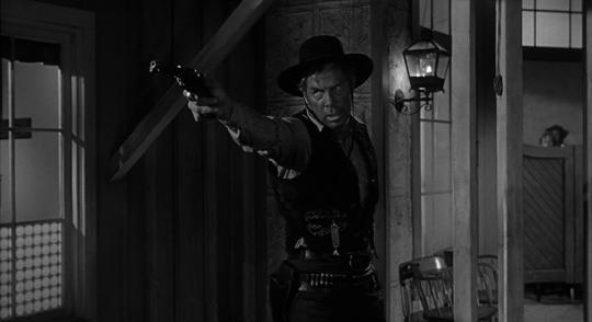 "Lee Marvin dans ""L'Homme qui tua Liberty Valance"""