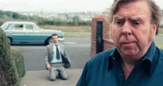 "Timothy Spall et Michael Sheen dans ""The Damned United""."
