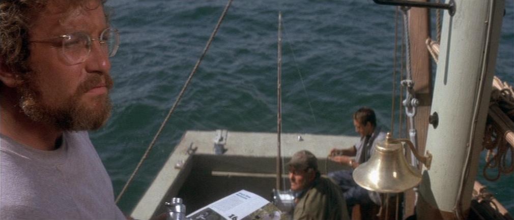 """Richard Dreyfuss dans """"Les Dents de la mer"""""""