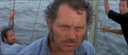 """Robert Shaw dans """"Les Dents de la mer"""""""