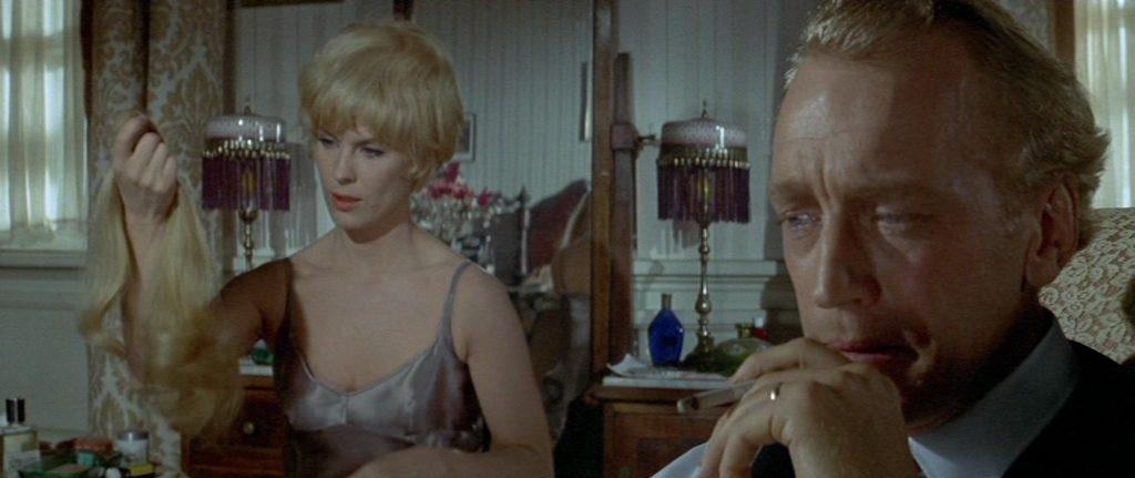 """Max von Sydow et Bibi Andersson dans """"La Lettre du Kremlin"""""""