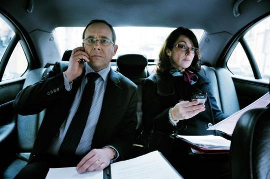 """Olivier Gourmet et Zabou Breitman dans """"L'Exercice de l'Etat"""""""